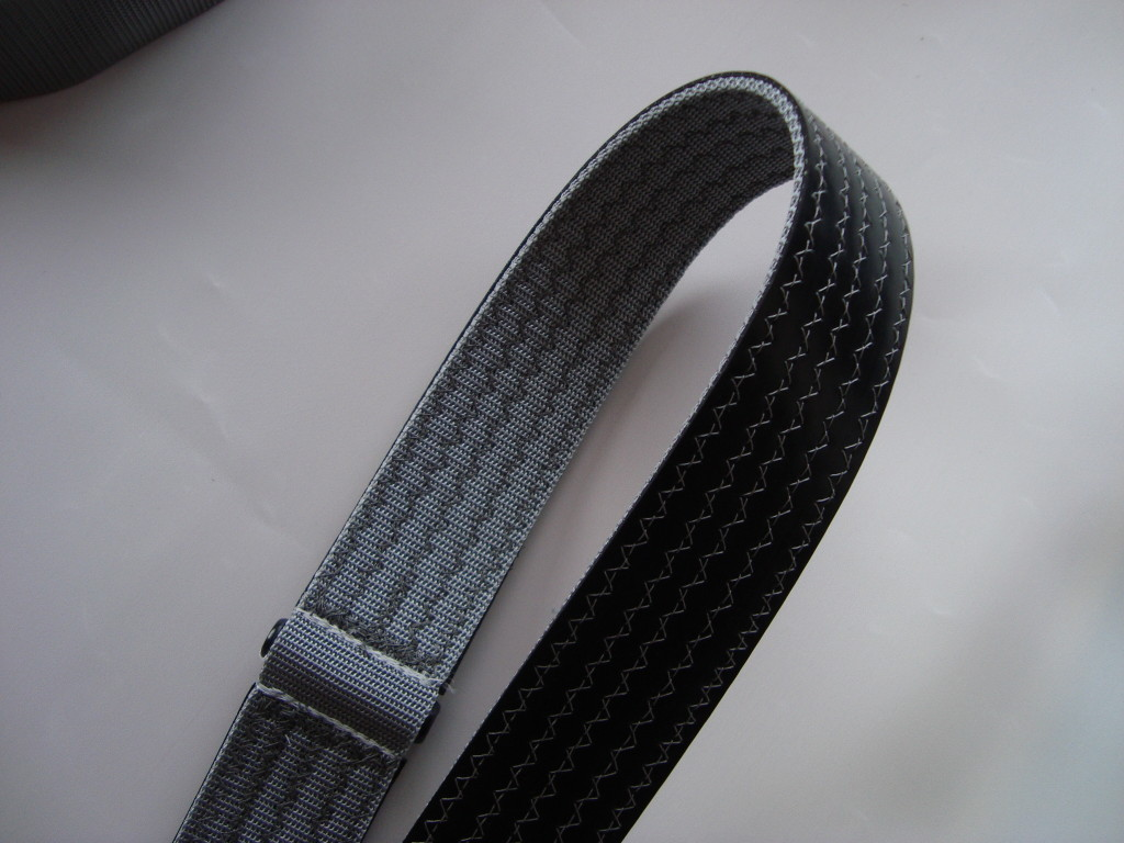 Plumb fit toe straps with rubber backing