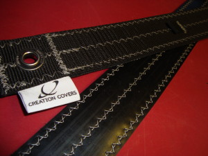 additional rubber backing for extra grip